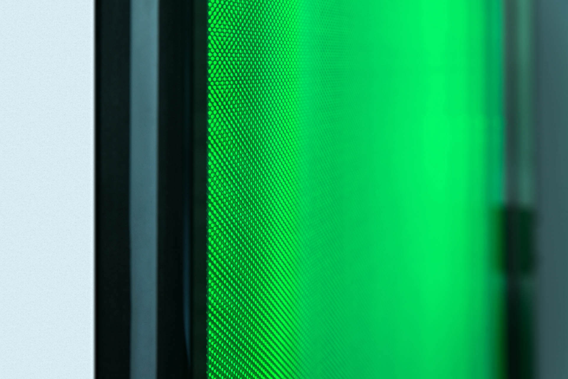 LED Isolierglas – Detailansicht