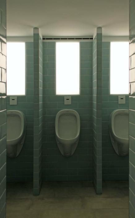 LED-Wandbeleuchtung im WC-Bereich